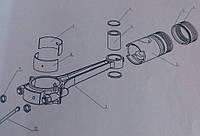 Кольца 52 мм компрессора ГСВ-0,6/12  155-2В5