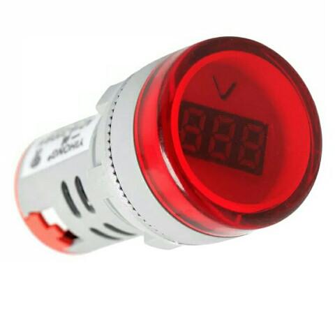 Вольтметр AD16-22DSV красный