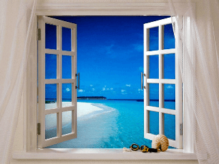 Распашные окна