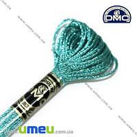 Мулине DMC Jewel E3849, Голубой аквамарин, Сияние драгоценных камней, 8 м (DMC-006331)