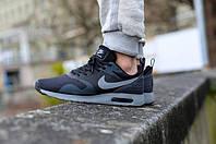 Кроссовки Nike Air Max Tavas Black/Grey (топ реплика)