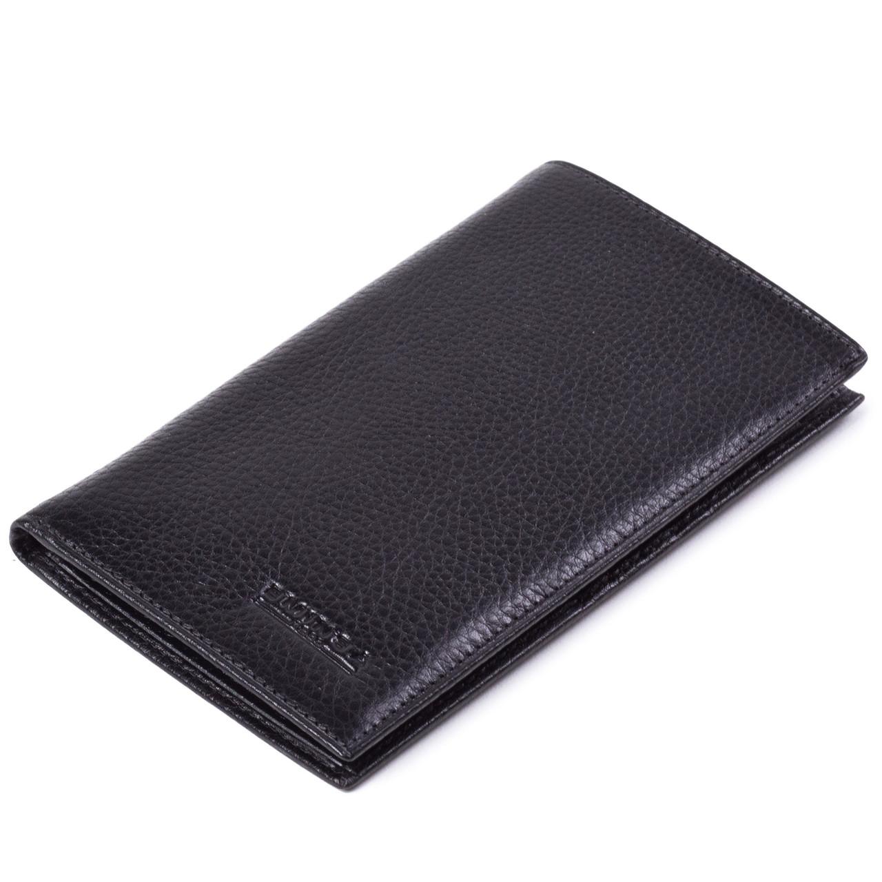 Мужское портмоне бумажник кожаный черный Eminsa 1083-12-1