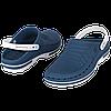 Обувь медицинская Wock, модель CLOG04 (бело-синие) р.47 / 48