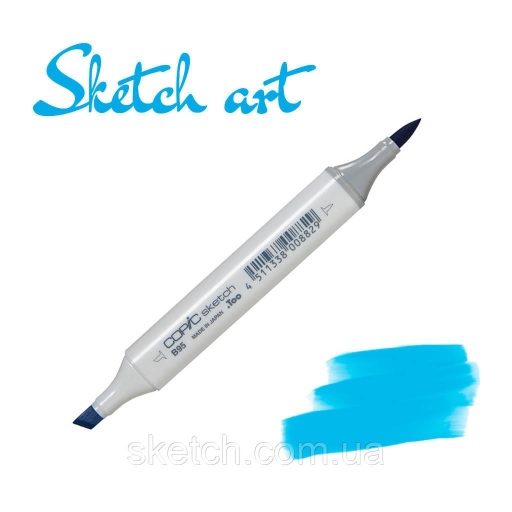 Copic маркер Sketch,  #B-06 Peacock blue (Насыщенно-голубой)