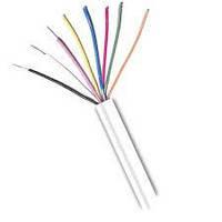 Сигнальный кабель 8 * 0.22 mm UTP CCA. , неэкранированный,  белый, 100м