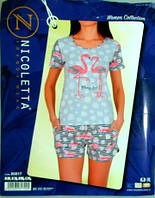 Костюм женский пижама комплект летний Турция
