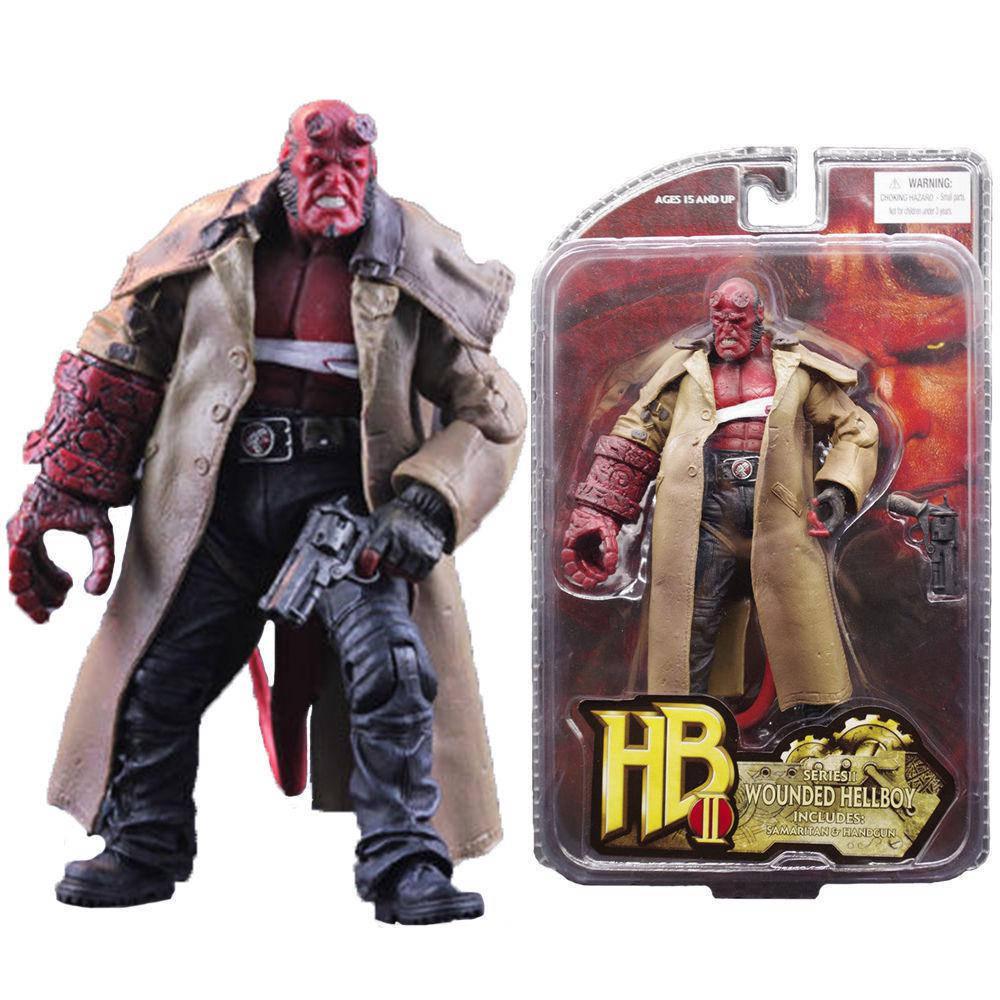 Фигурка раненный Хеллбой - Wounded Hellboy, The Golden Army, Mezco HB Series 2