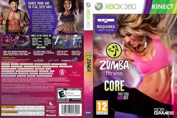 Игра xbox 360 Zumba Fitness Core регион NTSC