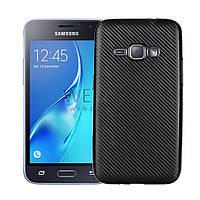 Наклейка карбон чорний Samsung J120 ( Самсунг ж120,Защитная пленка, защита для телефонов, кейс, наклейка )