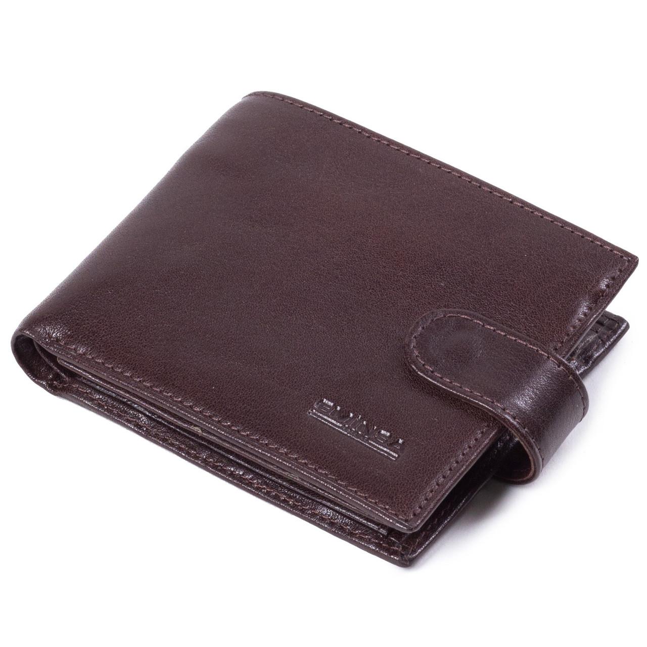 Мужское портмоне кожаное коричневое Eminsa 1065-18-3