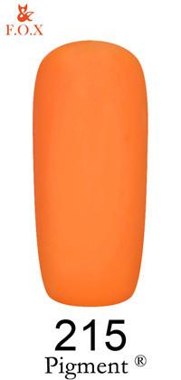 Гель-лак Pigment F.O.X. 215  6мл. и 12мл.