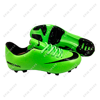Бутсы (копы) Nike Mercurial Victory Green FB180020 (р-р 36-44, салатовый)