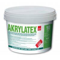 KABE AKRYLATEX Дисперсионная, акриловая краска для покраски бетонных элементов и цоколей, 10л