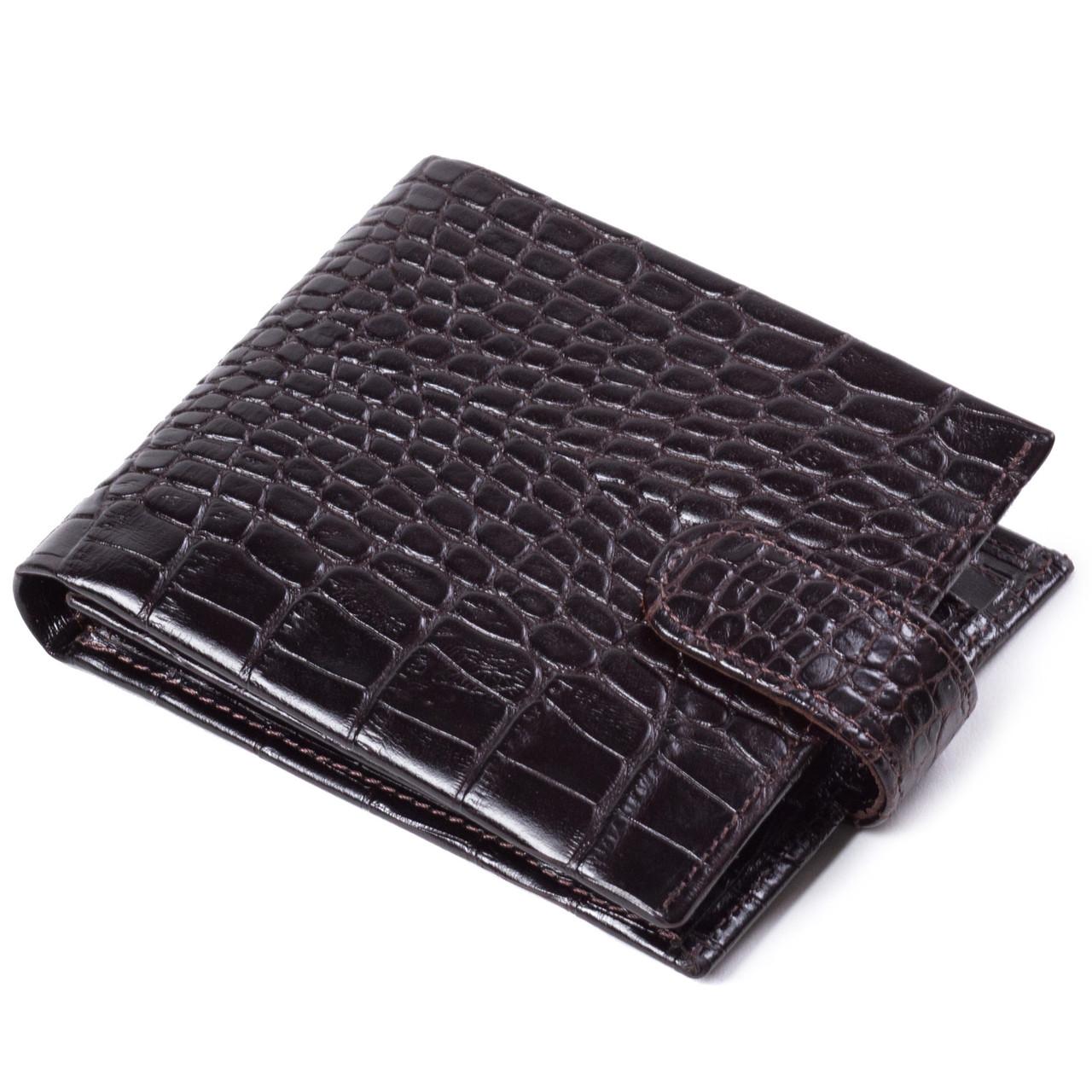 1b6b1cf67423 Мужское портмоне кожаное коричневое Eminsa 1065-4-3 - FainaModa магазин  кожаных изделий в