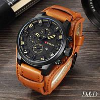 Часы мужские спортивные Curren коричневый