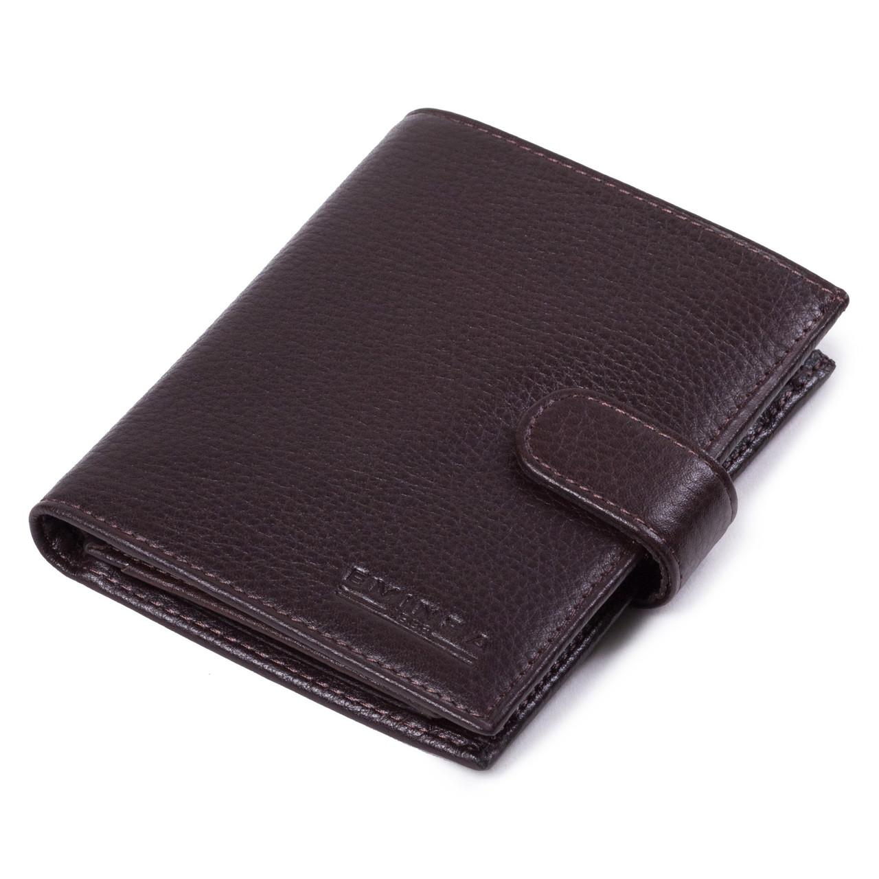 Мужское портмоне Eminsa 1048-17-3 кожаное коричневое