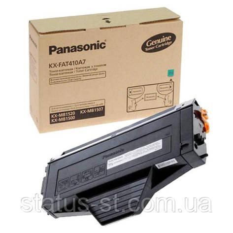Заправка картриджа Panasonic KX-FAT410A7 для принтера KX-MB1500, KX-MB1530, KX-MB1520UCB Black, KX-MB1507, фото 2