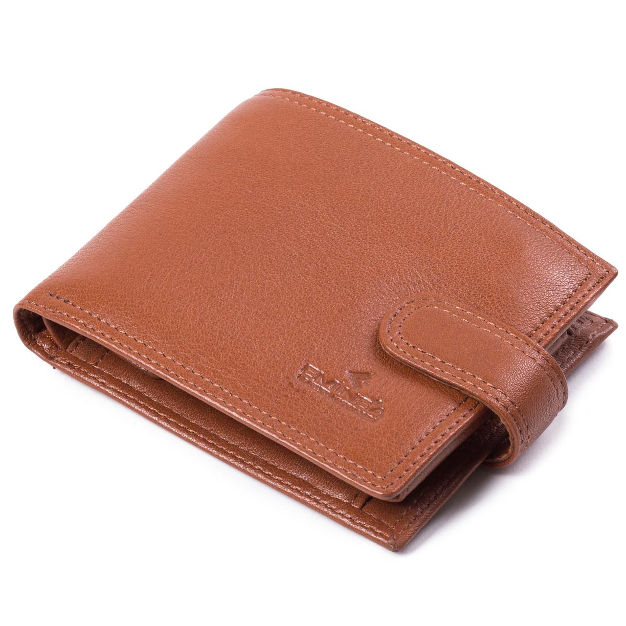 Мужской кошелек с визитницей кожаный Eminsa 1043-12-2