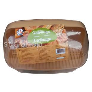 Хлебница пластиковая (бежевая)