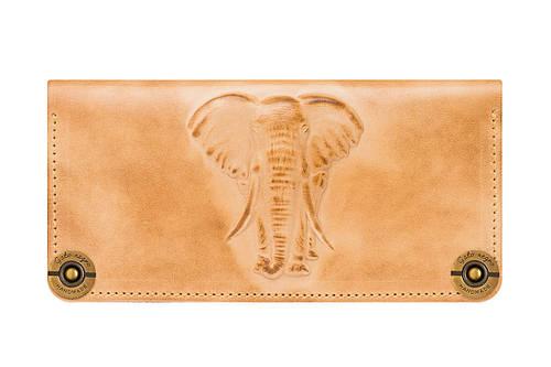 Кошелек кожаный Elephant