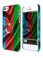 Чехол для iPhone 4/4s/5/5s/5с, Азербайджан флаг