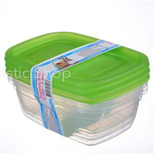 Набор контейнеров Ал-Пластик Econom box 3шт (0,75л)