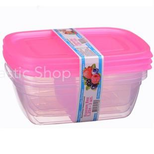 Набор контейнеров Ал-Пластик Econom box 3шт (1.25л)