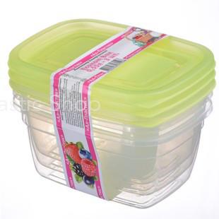 Набор контейнеров Ал-Пластик Econom box 3шт (0,55л)