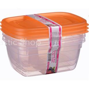 Набор контейнеров Ал-Пластик Econom box 3шт (1.5л)