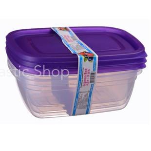 Набор контейнеров Ал-Пластик Econom box 3шт (2.2л)