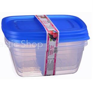 Набор контейнеров Ал-Пластик Econom box 3шт (2,5л)