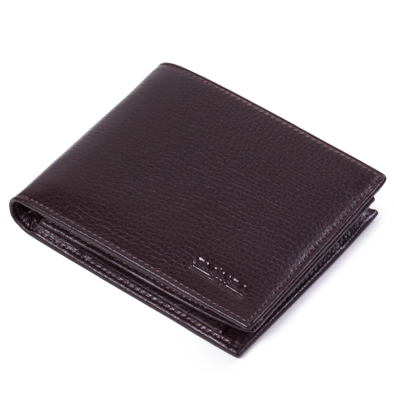 Мужской кошелек кожаный коричневый Eminsa 1029-17-3