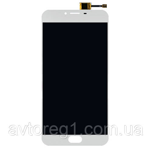 Дисплей Meizu U20 (U685H) with touchscreen white orig