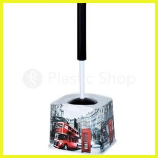Ершик для туалета с рисунком Лондон