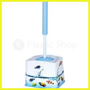 Ершик для туалета с рисунком Рыбки