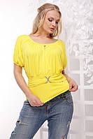 Жіноча батальна футболка з вирізами на рукавах.Р-ри 46-54
