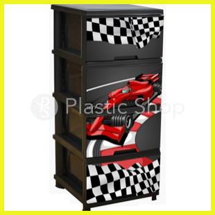 Комод пластиковый Алеана Формула1