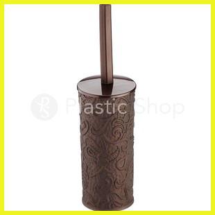 Ершик для туалета Ажурный круглый Тёмно-коричневый