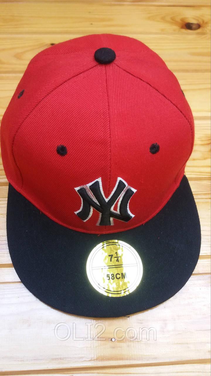 Кепка NY с прямым козырьком Snapback Cap