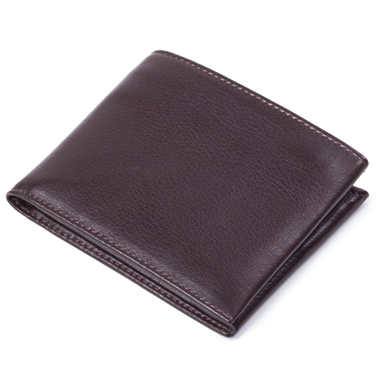 Мужской кошелек кожаный коричневый Eminsa 1028-12-3