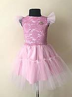 Нарядное детское платье для девочек с пышной юбкой, фото 1