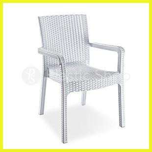 Ротанговое кресло Markiz Белое