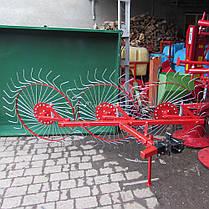 Грабли для мототрактора Солнышко 3, фото 2