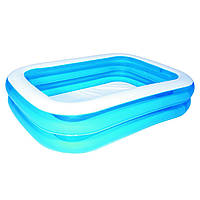 Надувной бассейн Bestway 54005 (201х150х51см)