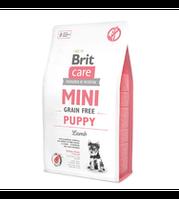 Brit Брит Care Dog Mini GF Puppy 2 kg Lamb (д/щенков малых пород) ягненок