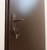 Металлические входные двери Техно 2 утепленные на улицу и в тамбур, фото 3