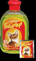 Барьер 2 в 1 шампунь противопаразитарный для кошек, 300 мл, Продукт
