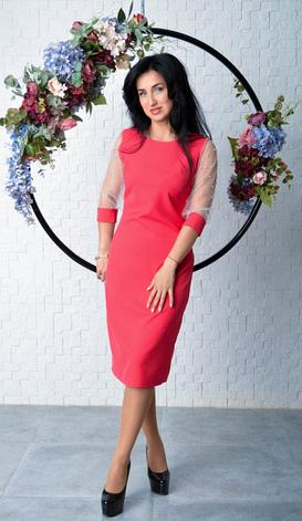 "Платье-футляр ""Диана"" размеры 44,46,52, фото 2"