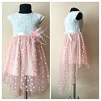 Нарядное детское платье для девочек от 3 до 7 лет с фатином, фото 1