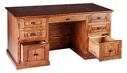 """Офисный стол """"Патрик"""" из массива дерева"""